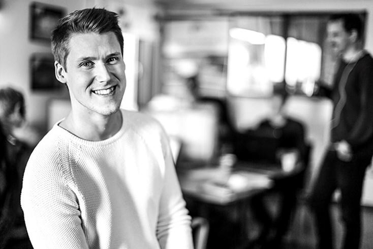 Samuel Holmström, VD på Lundqvist Trävaru AB.