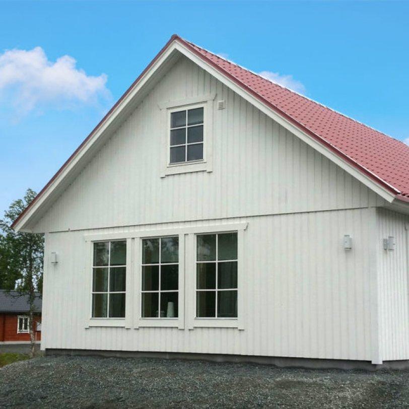 Fritidshus med overetasje